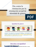 PRESENTACIÓN 3 Y 4 DIA CONTRA LA DISCRIMINACIÓN DE GENERO