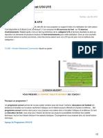 foot-entrainements.fr-Programme Annuel foot U14 U15