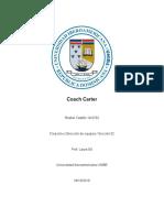 Rusbel Castillo 19-0703 Coach Carter