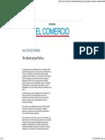 No destruyan Solca _ El Comercio