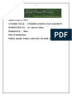 management final assignment