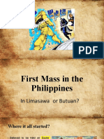 First-Mass-in-the-PhilippinesReport