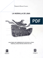 2011 - Macera, Margarita - La muralla de Lima