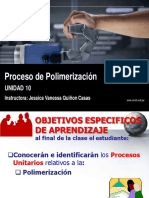 Proceso de Polimerización