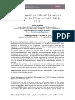 Brikman - Gestión social de Hábitat- La política del PRO en las Villas de CABA, 2011-2015
