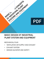Basic Design of industrial plant
