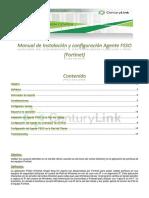 Manual de Instalación y configuración Agente FSSO en modo Agente (Fortinet) v 1.4.2