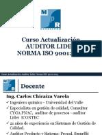 Sesion 1 Curso Actualización AUDITOR LIDER NORMA ISO 9001_2015