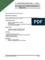SEQ 2 Description de lAudit Financier  comptable