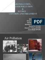 Air Pollution, Water Pollution