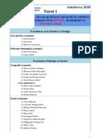 Upsc Abiturienti Buget Fr Admiterea 2020 Turul 1