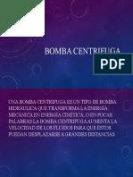 Bomba centrifuga expo.pptx