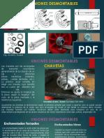 6 Uniones desmontables  Chavetas -Pasadores
