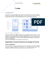 Chapter IV Google Cloud IoT Core