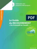 2011 Guide RECOUVREMENT FIM Cisma FINAL