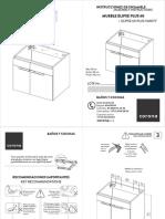 instructivo instalación mueble elipse
