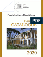 French Institute of Pondicherry - Publication Catalogue_2020