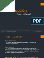 QUE ES LA FISICA INTRODUCCION GRADO 9