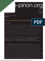 Piñón _ Cinco axiomas sobre el proyecto.pdf