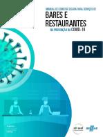 Manual de Conduta de Serviços de Alimentação Bares e Restaurantes Final