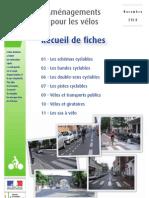 Aménagements pour les vélos