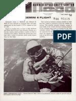 Gemini 4 Flight