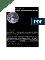 Superficie e Interior de la Tierra