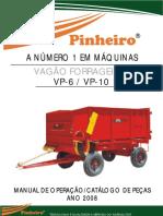 Catalogo Vagao Forrageiro VP-6 10