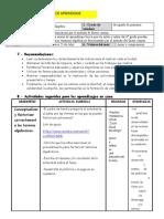 SESIONES DE APRENDIZAJE DE FACTORIZACION I SEXTO 24-07-20
