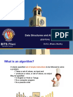 Data Structures and Algorithms - L2