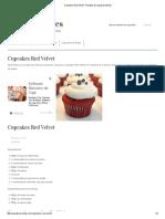 Cupcakes Red Velvet - Recetas de cupcakes fáciles.pdf
