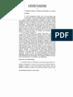 a review of scenario planning literature