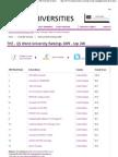 THE - QS World University Ranking 2009
