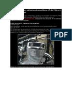 Como ajustar las válvulas de una Moto 4T de 250cm3 Lifan o Similares