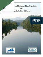 Virginia Environmental Literacy Plan Template