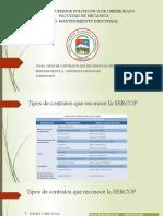 Tipos de contratos que reconoce la SERCOP-1.pptx