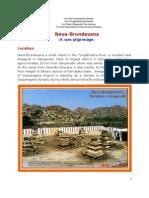 Nava-Brundavana (a Rare Pilgrimage)