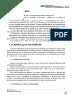 PDF PROC CIVIL - RESPOSTAS DO REU