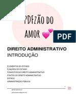 Introdu+º+úo ao Direito Administrativo