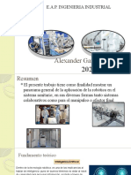 Automatizacion en el Sistema Sanitario(1era exposición)