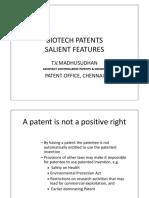 Biotech Patents – Salient Features.pdf