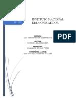 INSTITUTO NACIONAL DEL CONSUMIDOR