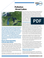 Factory Farm Pollution Threatens the Great Lakes