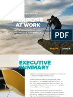 Global Report on Purpose at Work