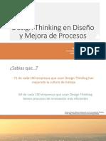 Design Thinking en Diseño y Mejora de Procesos