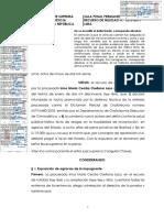 RN 1215-2019 CUESTIONAMIENTOS A PERICIA GRAFOTECNIA-TID RECEPTACION