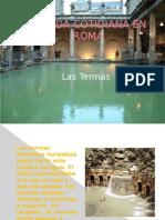 Las Termas en La Antigua Roma