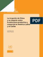 La irrupción de China de José Duran Lima