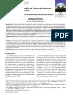 Caracterização da gestão de fatores de risco em projetos de infraestrutura