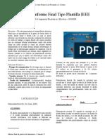 INFORME FINAL 2 DE CIRCUITOS ELECTRONICOS